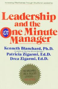 one minute manager leadership styles