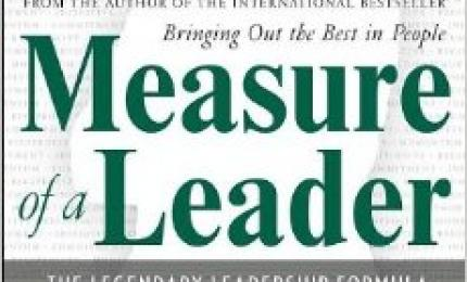 The Measure Of A Leader